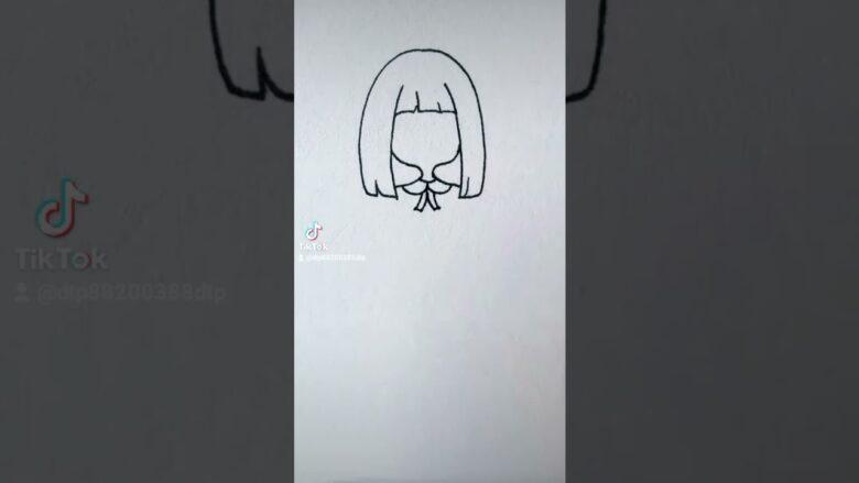 Tik Tok 💦 Thanh Phương 🔥 Hướng dẫn vẽ nhân vật Nanno cute gây sốt những ngày qua