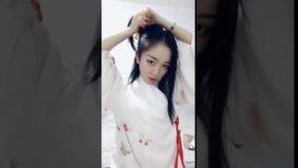(Tiktok Trung Quốc) Hướng dẫn làm tóc cổ trang cho tóc ngắn không cần tóc giả  P4