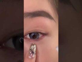 Hướng dẫn cách trang điểm mắt đẹp của những idol Tiktok #05 | #Shorts