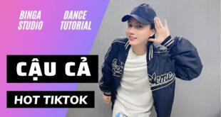 [HƯỚNG DẪN NHẢY/DANCE TUTORIAL] CẬU CẢ - HOT TIKTOK by BinGa STUDIO | MIRRORED