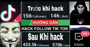 Hướng Dẫn Cách H.a.c.k Follow Và Tym Cho Tik Tok Miễn Phí Nhanh Nhất 2021| Tăng Follow và tym tiktok