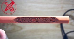 Hướng dẫn nhanh: khắc bút chì kiểu chữ đổ bóng độc lạ - Khắc tên game PUBG MOBILE