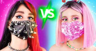 Alt TikTok Girl vs Straight TikTok Girl! How to Become Popular!