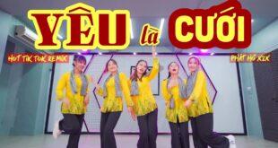 [Gái Miền Tây Nhảy Nhạc Đám Cưới Tiktok Cực Hay] Yêu Là Cưới Remix - X2X Dance By JT Crew X SCR99