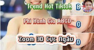 Cách Làm Trend Phi Hành Gia ABCD Zoom 3D Cực Hót Tiktok -@PCDVLOG