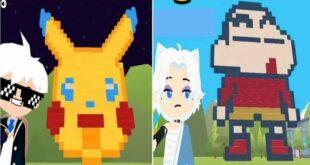 PLAY TOGETHER l Tổng Hợp Video TikTok Hài Hước - Xây Dựng Nhân Vật Anime & Truyện Tranh [CBNN]
