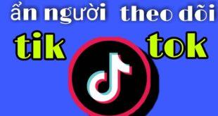 #shorts hướng dẫn ẩn người follow trên tiktok / ẩn người theo dõi bạn trên tiktok an khỉ đột